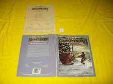 FR9 THE BLOODSTONE LANDS FORGOTTEN REALMS DUNGEONS & DRAGONS AD&D 9267 1 NO MAP