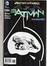 BATMAN #15 Death of the Family 1:100 Sketch Capullo VARIANT 2013