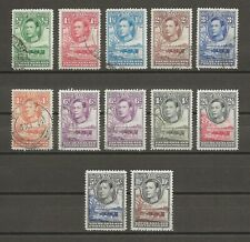 More details for bechuanaland 1938 sg 118/28 & shade used cat £102.50