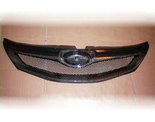 Carbon Fiber Front Mesh Grille Grill for 2008-2012 Impreza WRX STi Hatchback