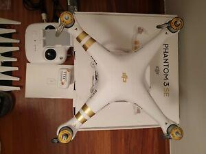 DRON DJI PHANTOM 3 SE + 2 baterías nuevas