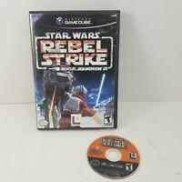 Star Wars: Rebel Strike Rogue Squadron III 3 (Nintendo GameCube, 2003) NO BOOK