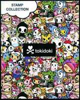 THAILAND STAMP PERSONALIZED TOKIDOKI COLLECTION S/S