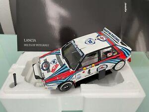 Lancia Delta HF Integrale 1982 Monte Carlo Martini in 1:18