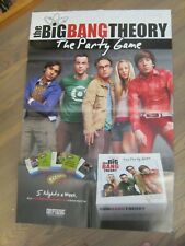 Promo Poster - The Big Bang Theory Party Game - Kaley Cuoco, Cryptozoic     ZPO0
