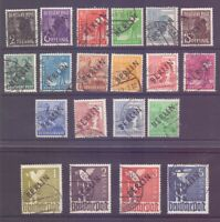 Berlin 1948 - MiNr. 1/20 zentral rund gestemp. geprüft - Michel 2.400,00 € (422)