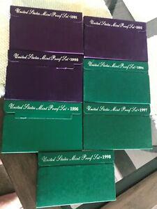 Proof sets 1991-2004 (12)