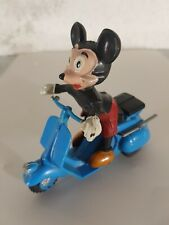 No Tin Toy 1960's VESPA MICKEY MOUSE by Marx Hong Kong in mint conditions SCOTER
