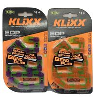 ZING KLIXX The original fidget widget-Lot Of 2 (NEW)