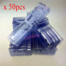 50pcs CPU Clamshell Tray Box Case Holder Protection For AMD 754 939 AM2 AM3 FM1