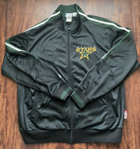 NHL Majestic Dallas Stars Men's Therma Base  Full Zip Size XL Jacket