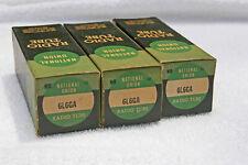 Qty 3 6L6GA tubes, National Union, NOS, tested, Vintage audio electronics