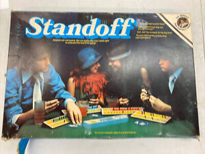 RARE VINTAGE STANDOFF GAME C.1976 BY BERWICK TOYS AGES 10+ 100% COMPLETE VGC