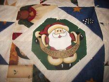 """Christmas Winter/Autumn"" Quilt Table Runner, Reversible, Handmade, One-of-kind"