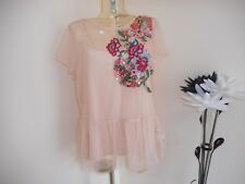 BNWT LADIES MARKS & SPENCER   NET STYLE  TWO PIECE TOP SIZE 16  RRP £39.50