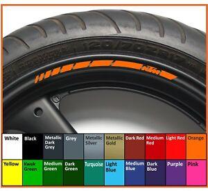 8 x KTM wheel rim decals stickers - 20 colors available - duke rc8 superduke sx