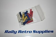 OLD STYLE BULLET CAR FUSES MIXED BAG CERAMIC TYPE CLASSIC CAR CORTINA  ESCORT