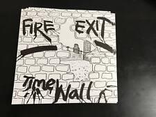 "Fire Exit - Time Wall 7"" kbd punk scotland 45 reissue punkrock killed by death x"