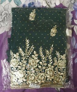 Brand New Unstitched Asian Pakistani Indian Suit