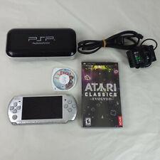 Sony PSP Playstation Portable Black System Atari Classics Evolved, Brave Story