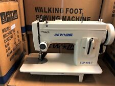 Sewline Slp-106-7 New Portable Walking Ft Rev +Extras Industrial Sewing Machine