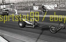 Dragster on Starting Line @ Lions Drag Strip - Vintage 35mm Race Negative