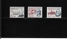 Greenland Scott 242-249 Famous men 1992 set mint never hinged