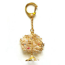 * Chinese New Year Feng Shui * Wealth / Wish Granting Tree Amulet Keychain