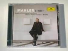 CD/MAHLER Lieder/QUASTHOFF/BOULEZ/VON OTTER/SEALED OVP