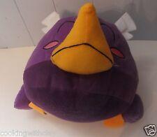 "2012 LARGE PURPLE PLUSH ANGRY BIRD VIDEO GAME PLUSH DOLL FIGURE 21"" AROUND"