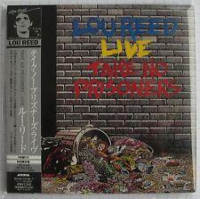 LOU REED - Take No Prisoners Live JAPAN MINI LP 2CD NEU RAR! BVCM-37746/7