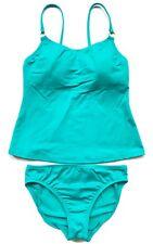 9024b954bba38 $78 Leilani Quiksilver Woman's 2 pc Tankini Set Turquoise, ...