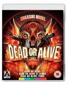 Dead or Alive Trilogy [Blu-ray] [Region A and B] [DVD][Region 2]