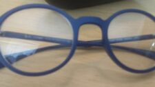 Blue frame ray ban glasses