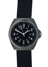 Military Industries 1980s Pattern MIL-W-46374C U.S Military Watch in Olive Drab