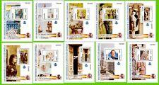 ESPAÑA 4037-46 AÑO 2003 10 HOJITAS DE LA CONSTITUCION ESPAÑOLA NUEVAS