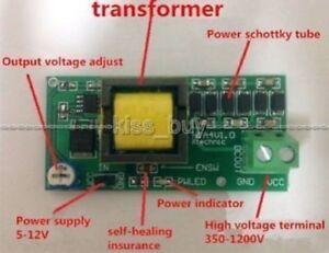 DC 5V-12V Step up 300V-1200V High Voltage DC-DC Boost Converter Power Module L50