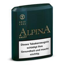Pöschl Alpina 10x10g Schnupftabak Snuff / 20252