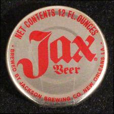 "JAX BEER ""BIG MOUTH"" BOTTLE CAP JACKSON BREWING CO. NEW ORLEANS, LOUISIANA NOLA+"