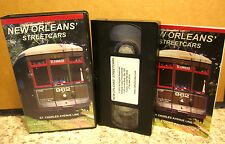 NEW ORLEANS STREET CARS documentary VHS Canal Street travel 1923 Perley Thomas