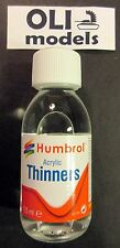 Acrylic Paint Thinner 125ml Bottle - HUMBROL 7433