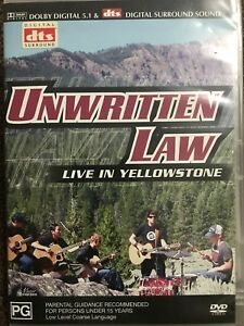 UNWRITTEN LAW/LIVE IN YELLOWSTONE - DVD R 4