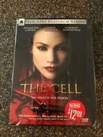 The Cell (DVD, 2000 NEW LINE Platinum Series) MOVIE Jennifer Lopez, Vince Vaughn