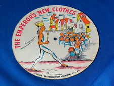 """Record Guild Picture Record 7"""" 78 The Emperor's New Clothes/Jack and the Kids"""