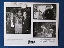 "Original Press Promo Photo  -10""x8"" - How the Grinch Stole Christmas - 2000 - C"