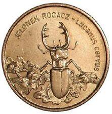 Poland / Polen - 2zl Stag beetle