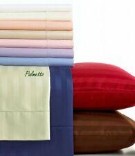 Home 4 Pcs Waterbed Sheet Set 1000 Tc Egyptian Cotton Striped Pattern Us Sizes