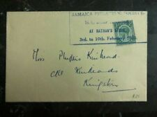 1938 Jamaica Philatelic Society First Day Cover FDC Domestic