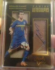 2016-17 Black Gold Miralem Pjanic Rookie Auto Bosnia Herzegovina Juventus