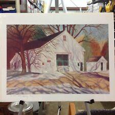 Print - Winter Shadows - Signed by Linda Ravella 71/100 1994 17 x 22
